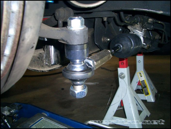 How Do Tie Rod End Spacers Increase Steering Angle