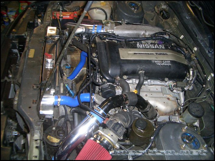 intercooler piping for s14 sr20 in s13 chasis - Zilvia net